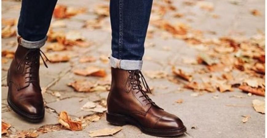 How to combine men's boots?